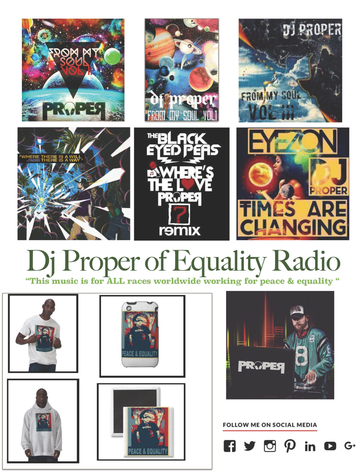 DJ PROPER ONE SHEET  Page 1 1